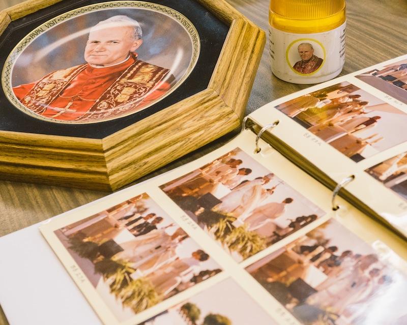 Memorabilia from Papal Visit, 1984