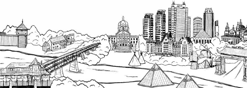 Edmonton Historical Board Logo